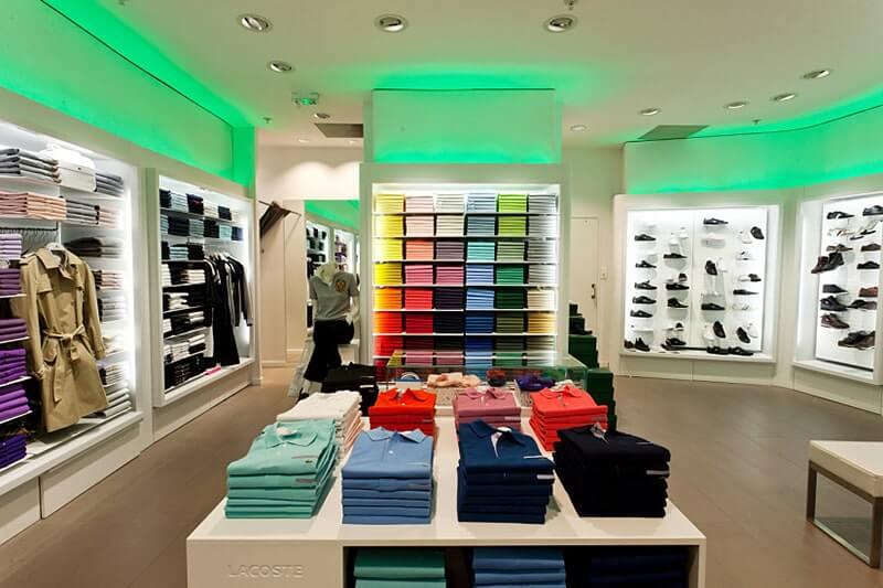 اصول طراحی روشنایی در فروشگاه - گروه صنعتی مهر
