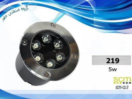 قاب چراغ دفنی LED ال ای دی مدل ۲۱۹