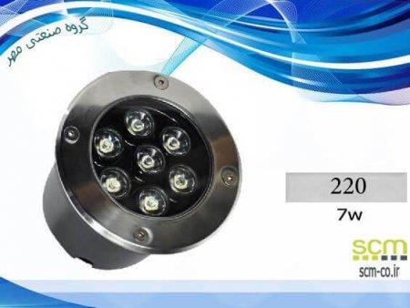 قاب چراغ دفنی LED مدل 220 - گروه صنعتی مهر