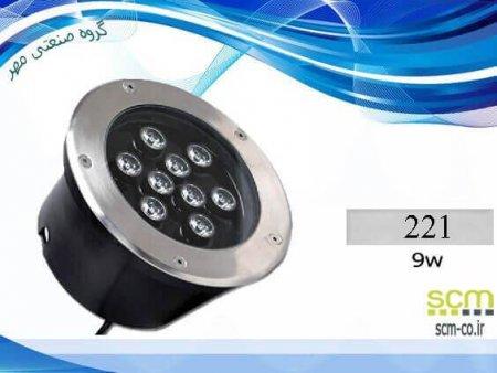 قاب چراغ دفنی LED مدل 221 - گروه صنعتی مهر