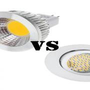 تفاوت SMD LED و COB LED - گروه صنعتی مهر